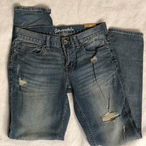 Aeropostale Distressed Kylie Boyfriend Jeans